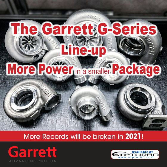 Garrett G Series Turbos...More power in a smaller package